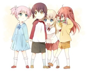 Namori-sensei's illustrations are always so cute! (Yuruyuri's author)