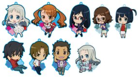 New trading metal key chain set for AnoHana. Notable for being adorable!